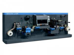Roll to Roll Label Laser Cutting Machine