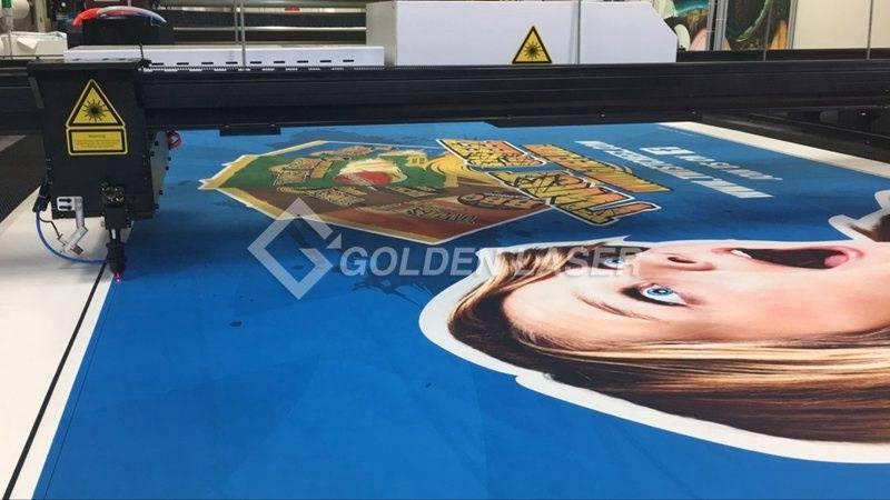 vision laser cutting large format banner