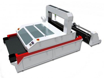 Vision Laser Cutting Machine for Sublimation Printed Fabrics