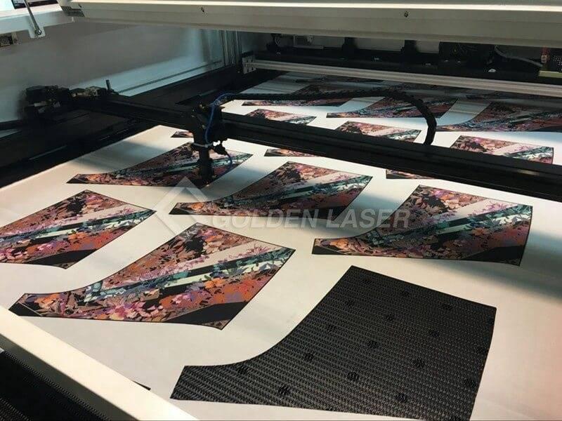 laser cutting sublimation clothing