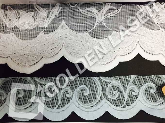 warp lace edge laser cutting