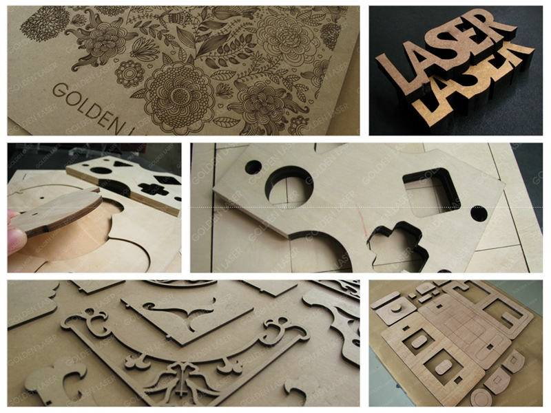 wood laser cutting samples